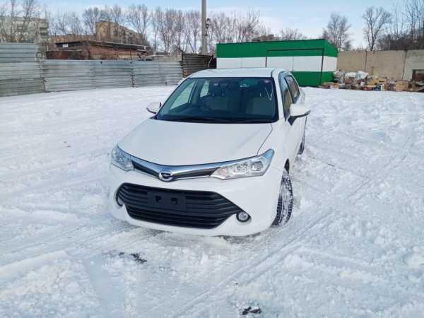 Toyota Corolla Axio, 2016 год, 725 000 руб.