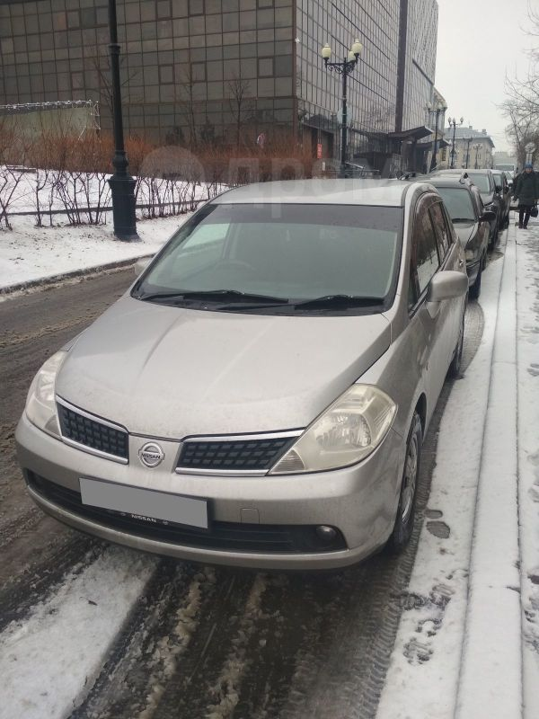 Nissan Tiida Latio, 2007 год, 315 000 руб.