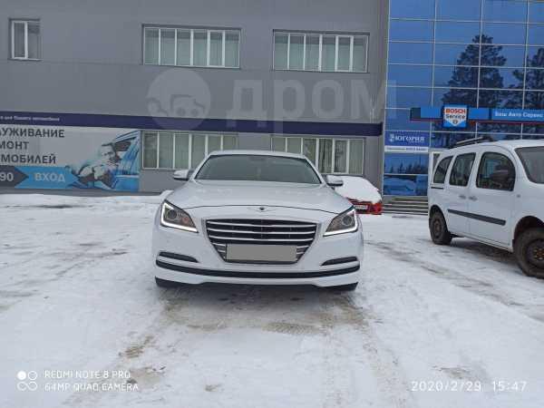 Hyundai Genesis, 2015 год, 1 530 000 руб.