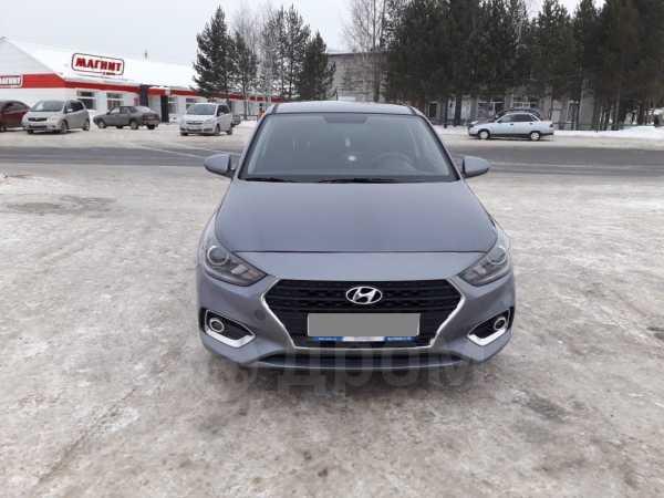 Hyundai Solaris, 2017 год, 550 000 руб.