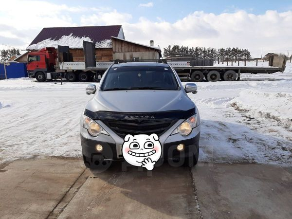 SsangYong Actyon Sports, 2007 год, 485 000 руб.