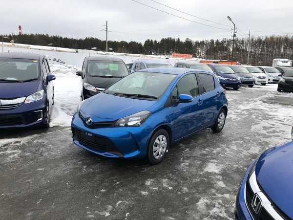 Toyota Vitz, 2016 год, 557 000 руб.