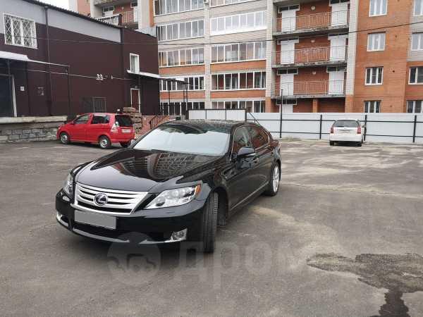 Lexus LS600hL, 2010 год, 2 100 000 руб.