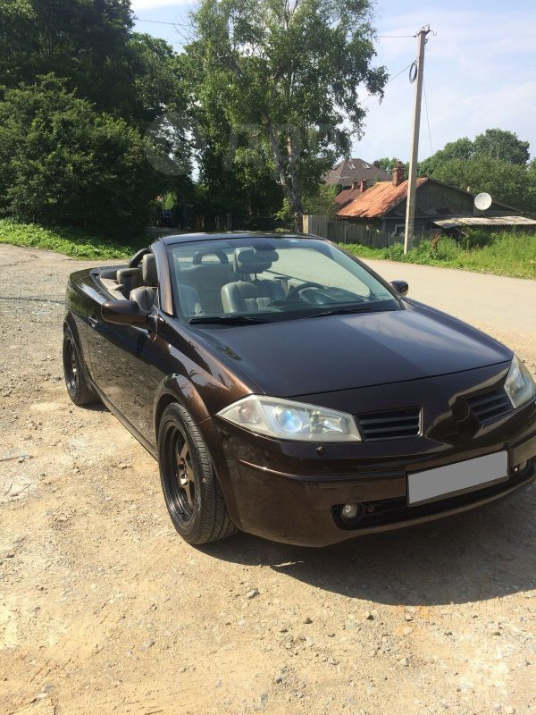 Renault Megane, 2004 год, 470 000 руб.