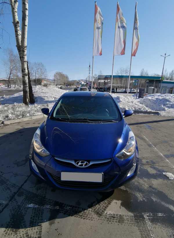 Hyundai Elantra, 2011 год, 599 000 руб.