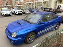 Москва Impreza WRX 2001