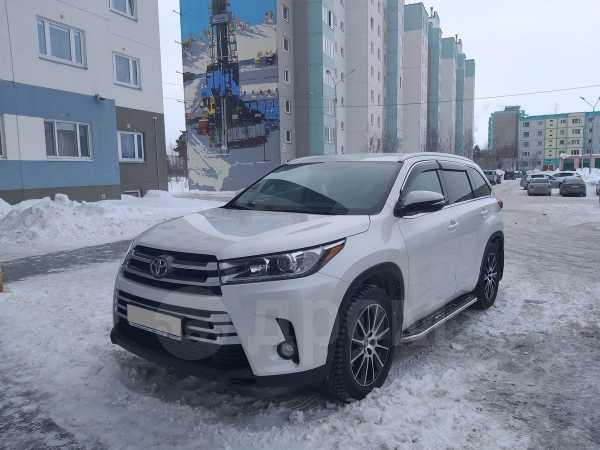 Toyota Highlander, 2018 год, 3 180 000 руб.