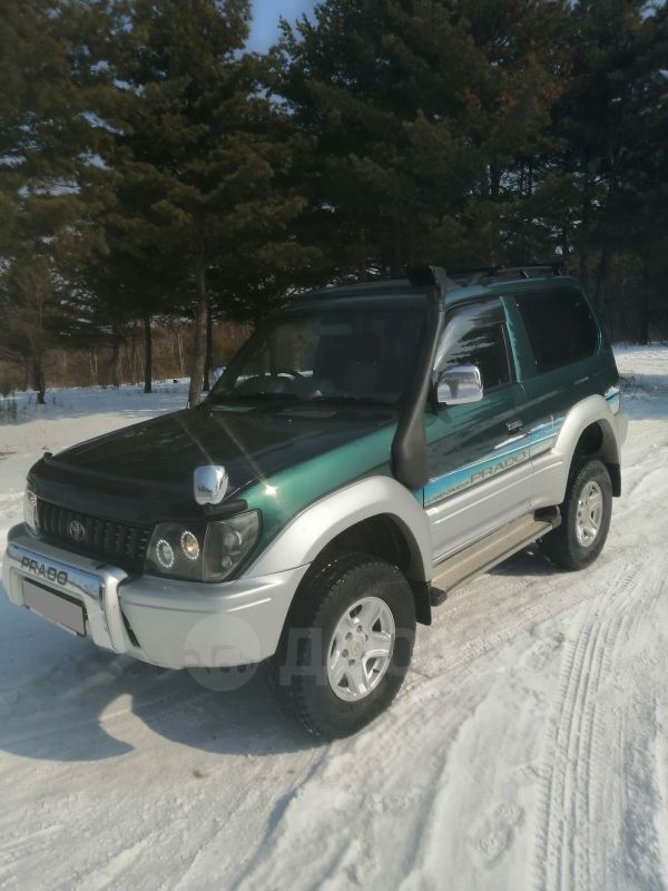 Toyota Land Cruiser Prado, 1997 год, 610 000 руб.