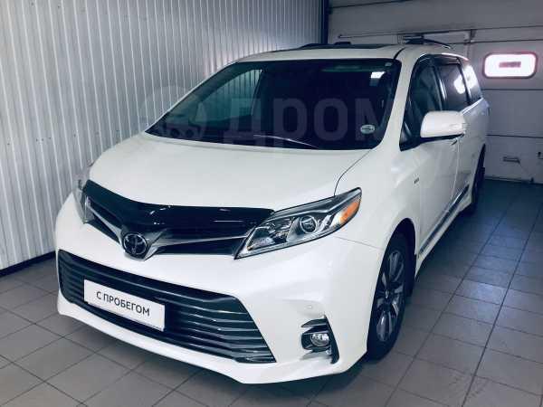 Toyota Sienna, 2018 год, 3 750 000 руб.