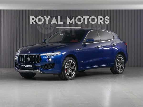 Maserati Levante, 2018 год, 5 490 000 руб.