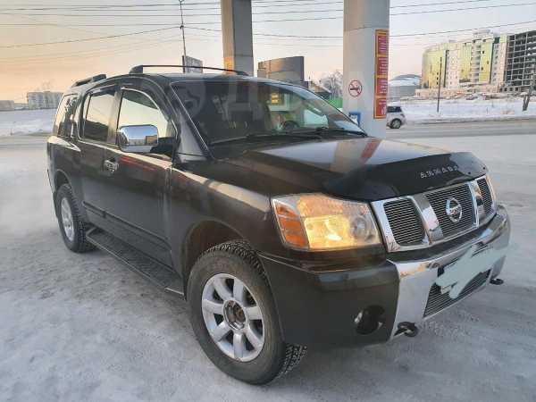 Nissan Armada, 2004 год, 710 000 руб.