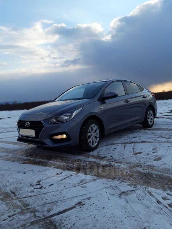Hyundai Solaris, 2017 год, 655 000 руб.