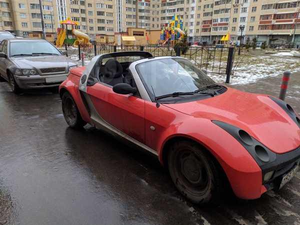 Smart Roadster, 2003 год, 380 000 руб.
