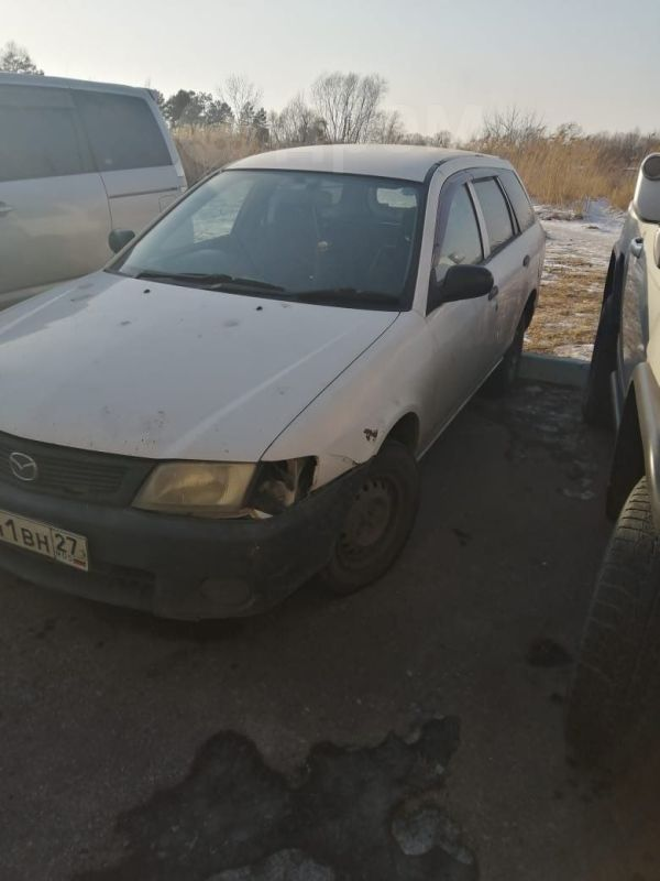Mazda Familia, 2002 год, 125 000 руб.
