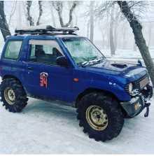 Абакан Pajero Mini 1996