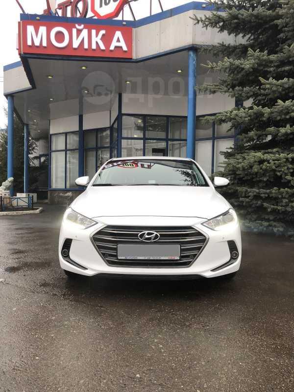 Hyundai Elantra, 2017 год, 1 100 000 руб.