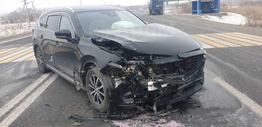Mazda CX-8, 2016 год, 1 000 000 руб.