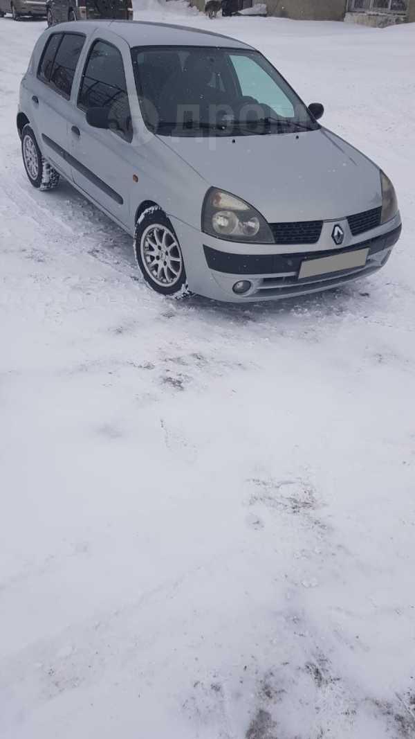 Renault Clio, 2002 год, 182 000 руб.