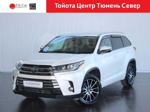 Toyota Highlander, 2017 год, 2 600 000 руб.