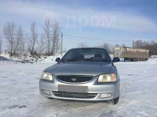 Hyundai Accent, 2003 год, 135 000 руб.