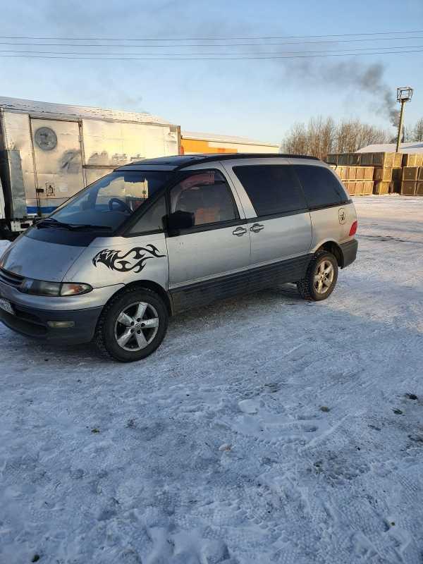 Toyota Estima Lucida, 1993 год, 120 000 руб.