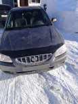 Hyundai Accent, 1999 год, 140 000 руб.