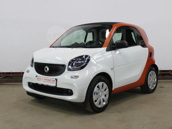 Smart Fortwo, 2018 год, 765 000 руб.