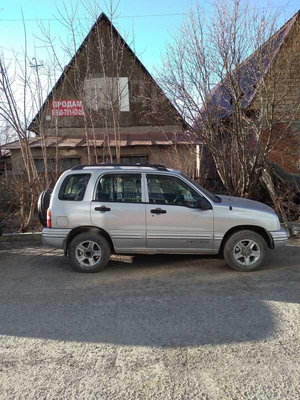 Chevrolet Tracker, 2002 год, 350 000 руб.