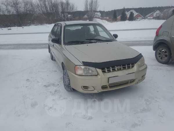 Hyundai Accent, 2001 год, 180 000 руб.