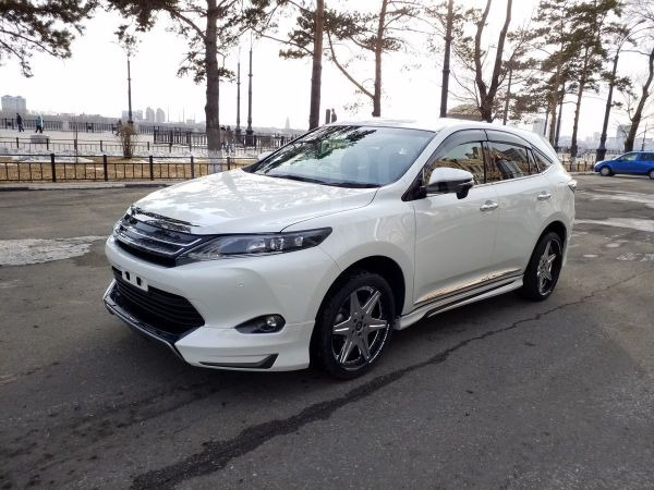 Toyota Harrier, 2017 год, 2 230 000 руб.