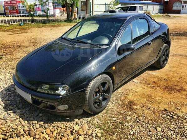 Opel Tigra, 1997 год, 165 000 руб.