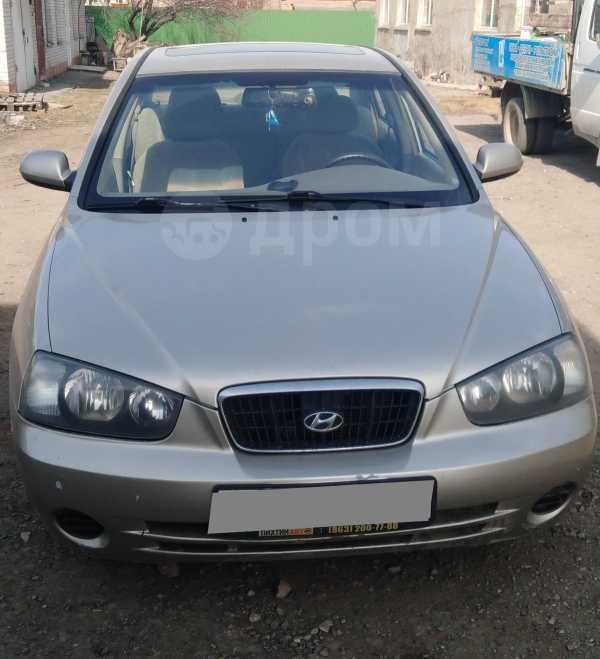 Hyundai Elantra, 2002 год, 210 000 руб.