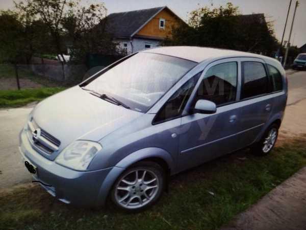 Opel Meriva, 2004 год, 185 000 руб.