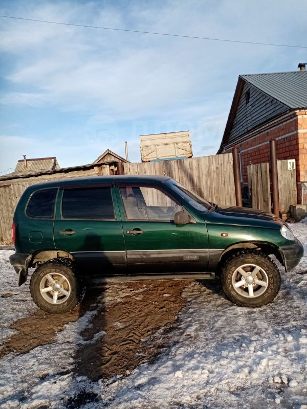 Chevrolet Niva, 2004 год, 115 000 руб.