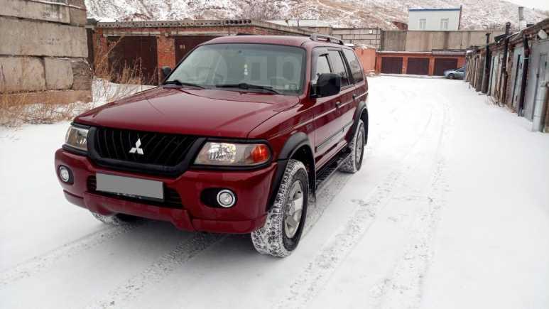 Mitsubishi Montero Sport, 2002 год, 550 000 руб.
