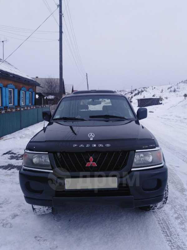 Mitsubishi Montero Sport, 2001 год, 470 000 руб.