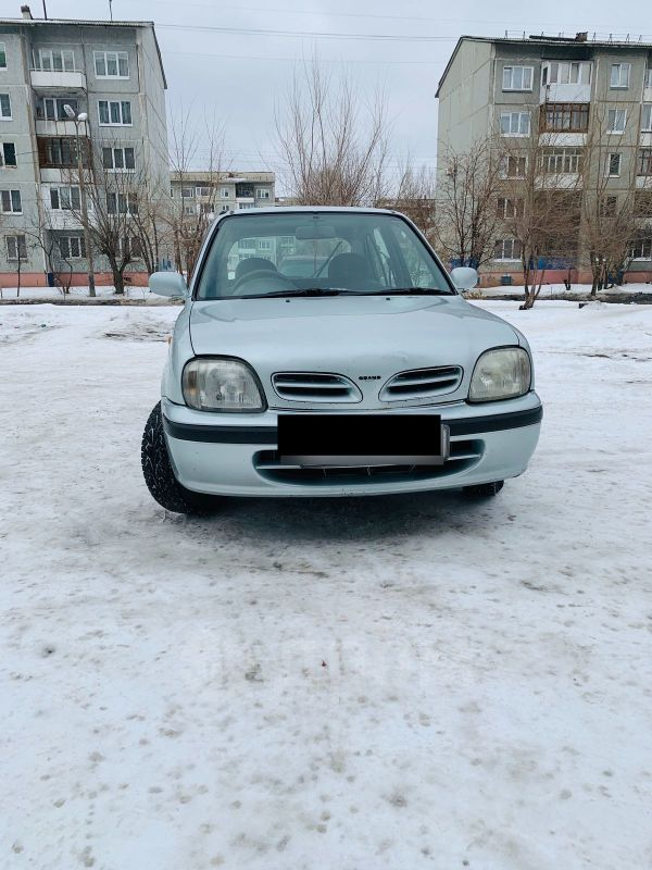 Nissan March, 1998 год, 95 000 руб.