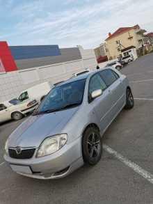 Анапа Corolla Runx 2002