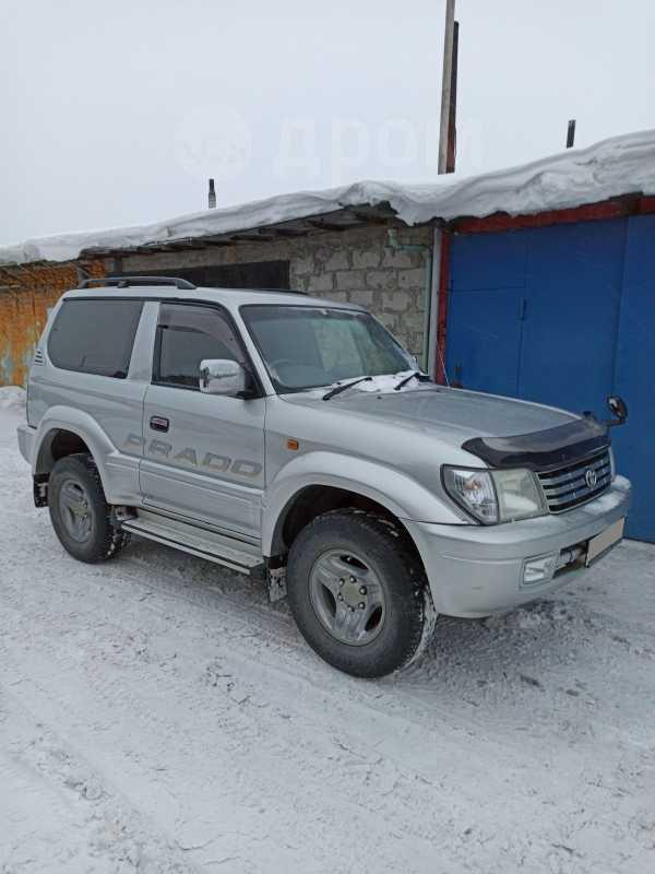Toyota Land Cruiser Prado, 2001 год, 640 000 руб.