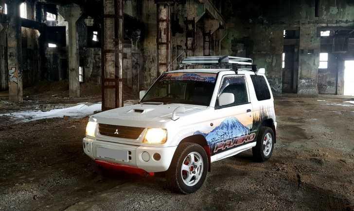 Mitsubishi Pajero Mini, 2000 год, 190 000 руб.