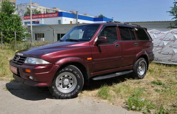 SsangYong Musso, 1997 год, 500 000 руб.