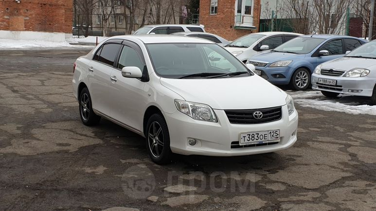 Toyota Corolla Axio, 2010 год, 495 000 руб.
