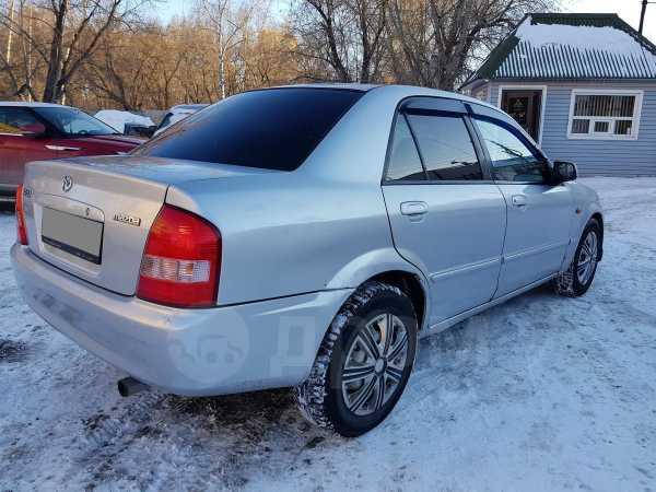 Mazda 323, 2002 год, 195 000 руб.