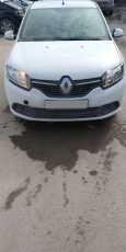 Renault Logan, 2017 год, 380 000 руб.