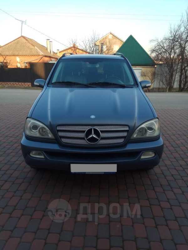 Mercedes-Benz M-Class, 2004 год, 489 000 руб.