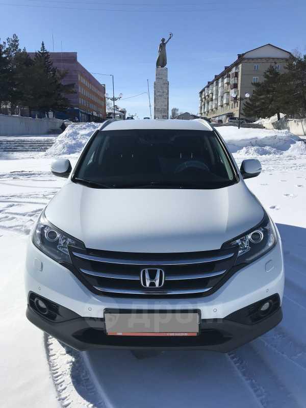 Honda CR-V, 2014 год, 1 240 000 руб.