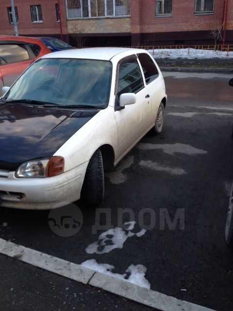 Toyota Starlet, 1998 год, 60 000 руб.