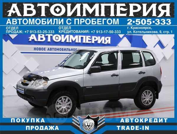 Chevrolet Niva, 2018 год, 478 000 руб.