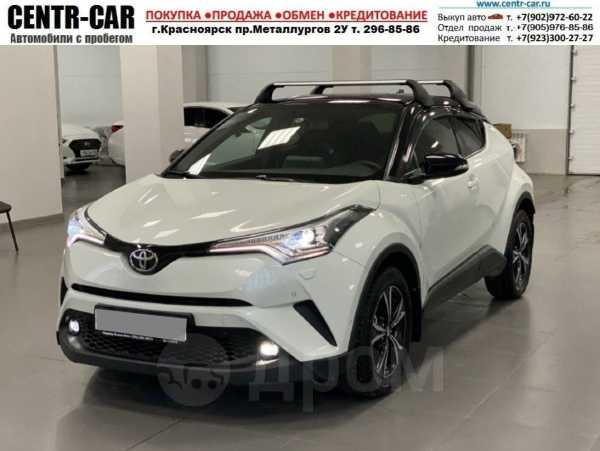 Toyota C-HR, 2018 год, 1 700 000 руб.