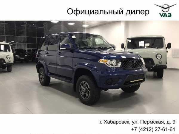 УАЗ Патриот, 2019 год, 1 256 300 руб.